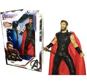 Boneco Articulado Thor Vingadores Ultimato Gigante Mimo 0567