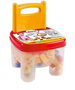 Brinquedo educativo Brinkadeira Cadeirinha Dismat MK156