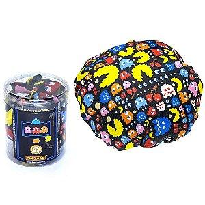 Touca de Banho Lona Impermeavel Geek Jogo Pac Man Kathavento