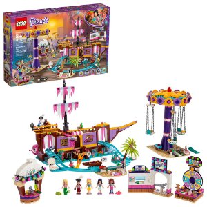 Lego Friends O Cais Divertido da Cidade de Heartlake 41375