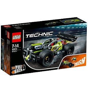 Lego Technic Pull Back Veiculo Whack Verde 135 Peças 42072