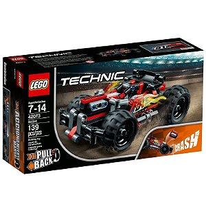 Lego Technic Pull Back Veiculo Bash Vermelho 139 Peças 42073