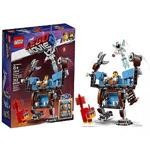 Lego Movie 2 O Sofá de Três Andares do Emmet 312 peças 70842