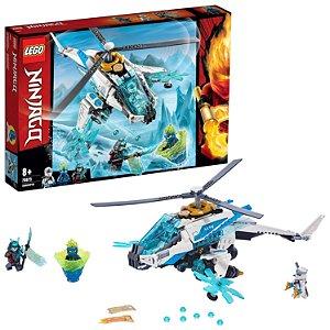 Lego Ninjago ShuriCoptero com 3 Mini Figuras 361 Peças 70673