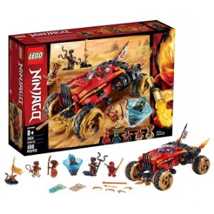 Lego Ninjago Veiculo Katana 4x4 450 Peças 5 Figuras 70675