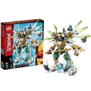 Lego Ninjago Robo Titan do Lloyd 876 Peças 6 Figuras 70676