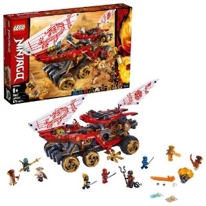 Lego Ninjago Veiculo Assalto Ninja Recompensa da Terra 70677