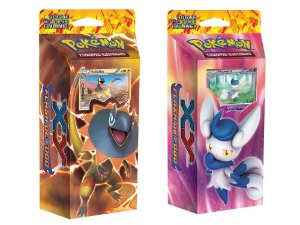 Combo Com 2 Decks Card Game Pokémon Xy Flash De Fogo