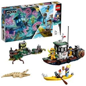 Lego Hidden Side Barco de Pesca de Camarao Naufragado 70419