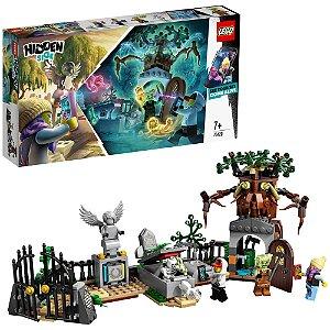 Lego Hidden Side Misterio do Cemiterio AR 335 Peças 70420
