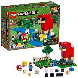 Lego Minecraft A Fazenda da La 260 Peças com 4 Figuras 21153