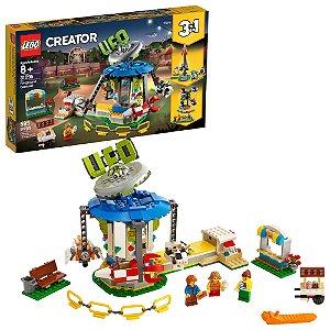 Lego Creator 3 em 1 Carrossel da Feira de Diversoes 31095