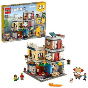 Lego Creator 3 em 1 Casa com Loja de Animais e Cafe 31097