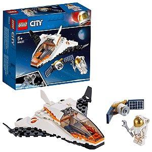 Lego City Missao de Assistencia a Satelite 84 Peças 60224