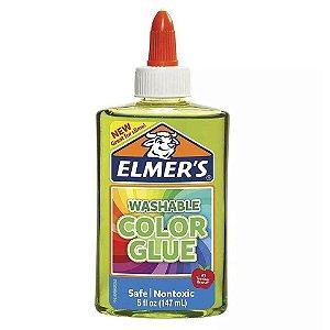 Cola Colorida 147 mL de Slime Verde Translucido Elmers 39698