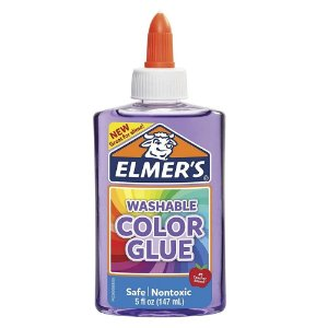 Cola Colorida 147 mL de Slime Roxo Translucido Elmers 39698