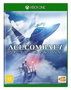 Jogo Ace Combat 7 Skie Unknown Xbox One Mídia Física Lacrado