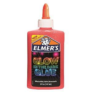 Cola para Slime com Glitter Neon 147 mL Rosa Elmers 39720