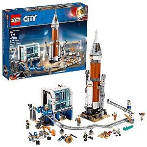 Lego City Foguete do Espaço e Controle de Lançamento 60228