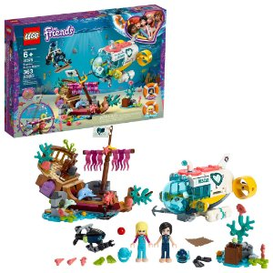 Lego Friends Missao de Resgate de Golfinhos 363 Peças 41378