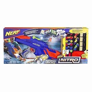 Brinquedo Nerf Nitro Lançador De Carro Motofury Rapid C0787