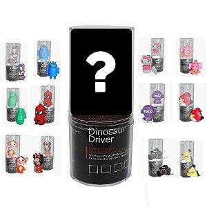 Pen Drive 4gb Personalizado Kit com 4 Modelos Surpresa Emtec