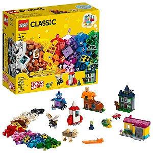 Lego Classic Janelas de Criatividade Kit com 450 Peças 11004