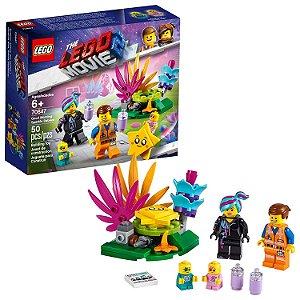 Lego The Movie 2 Bom dia Bebes Brilhantes com 50 Peças 70847