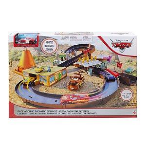 Pista Carros Disney Pixar Race Radiator Springs Mattel Ggl47