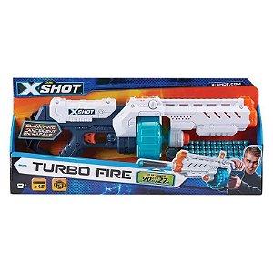 Brinquedo Lançador de Dardos X-Shot Turbo Fire Candide 5562