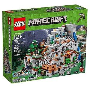 Brinquedo LEGO Minecraft A Caverna Da Montanha 21137