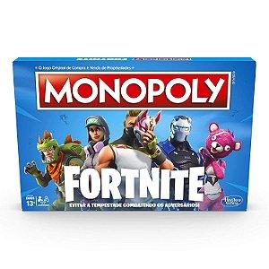 Brinquedo Jogo de Tabuleiro Monopoly Fortnite Hasbro E6603