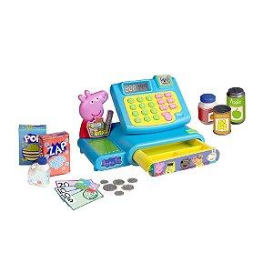 Brinquedo Peppa Pig Mercadinho Caixa Registradora Dtc 4653