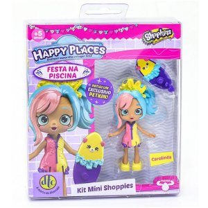 Shopkins Happy Places Kit Mini Shoppies Surpresa Dtc 4479