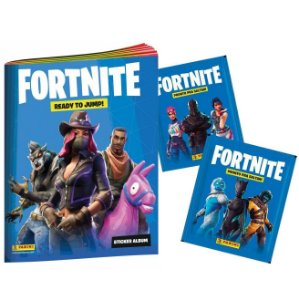 Album de Figurinhas Ilustrado Fortnite e 12 Envelopes Panini