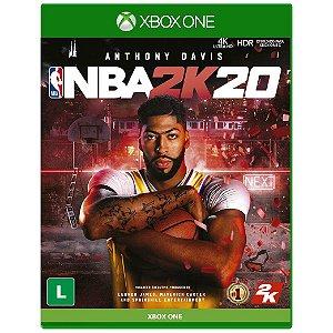 Jogo Midia Fisica Nba 2k20 Basquete Original para Xbox One