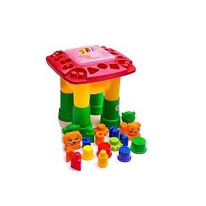 Brinquedo Infantil Mesinha De atividades Dismat Mk200