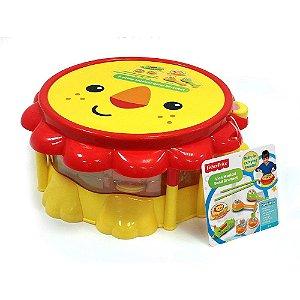 Brinquedo Musical Kit Bandinha Leão Fun Fisher Price 82970