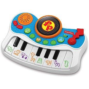 Brinquedo Infantil Teclado Studio Musical Fisher Price 82967