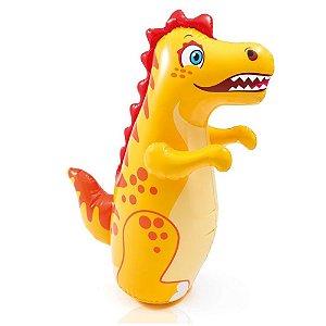 Boneco Inflável Resistente Teimoso Dinossauro Intex 44669