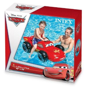 Brinquedo Inflavel Veiculo Carros Disney Pixar Intex 58576