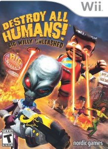 Jogo Destroy All Humans Big Willy Unleashe Para Nintendo Wii