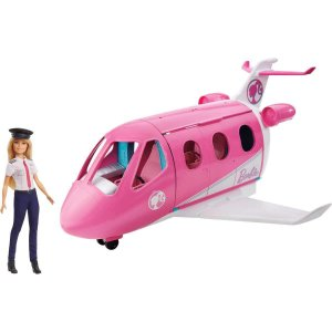 Barbie Explorar e Descobrir Jatinho de Aventura Mattel Gjb33