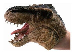Brinquedo Dinossauro Jurassic Dino Fantoche De Mão Dtc 3731
