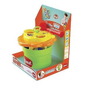 Brinquedo Infantil Bate Bola Leãozinho Dismat Mk298