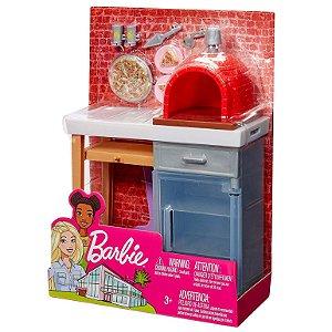 Brinquedo Casa da Barbie Moveis para Cozinhar Mattel Fxg41