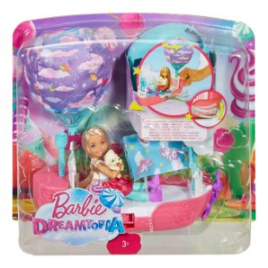 Barbie Dreamtopia Chelsea e o Barco dos Sonhos Mattel Dwp59