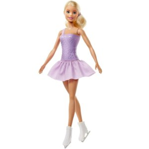 Barbie Profissoes Aniversario de 60 Anos Patinadora Fwk89