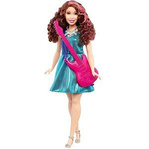 Boneca Barbie Profissoes Quero ser Estrela Pop Mattel Dvf50