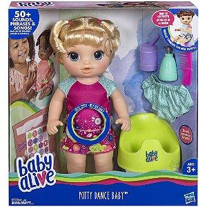 Boneca Baby Alive Primeiro Peniquinho Loira Hasbro E0609